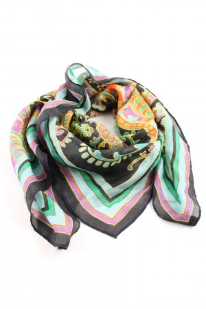Codello Silk Scarf mixed pattern casual look