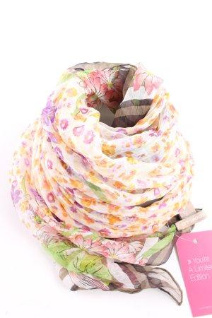 Codello Sciarpa di seta motivo floreale stile casual
