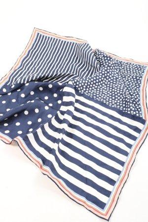 Codello Seidentuch blau-weiß grafisches Muster Casual-Look