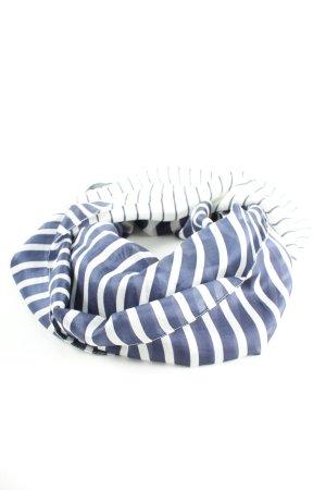 Codello Seidentuch blau-weiß Streifenmuster Casual-Look