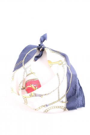 Codello Foulard en soie motif abstrait style décontracté