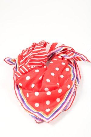 Codello Pañuelo de seda estampado a lunares look casual