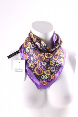 Codello Silk Cloth flower pattern casual look