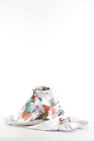 Codello Foulard en soie motif floral élégant