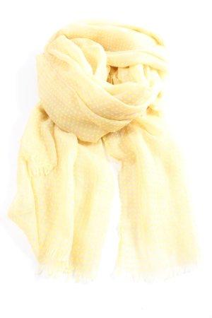 Codello Chal veraniego blanco puro-amarillo pálido look casual