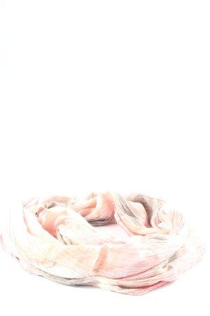 Codello Écharpe d'été crème-gris clair gradient de couleur