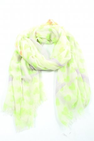 Codello Summer Scarf white-green themed print casual look