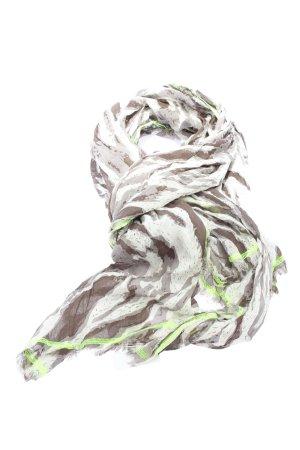 Codello Écharpe d'été gris clair-brun style décontracté