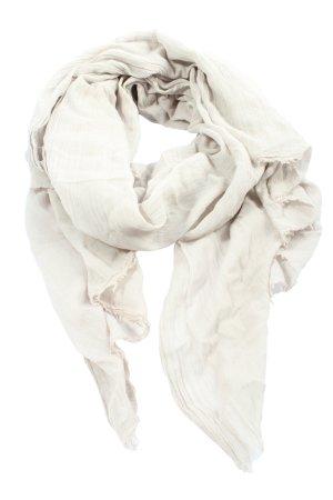 Codello Écharpe d'été blanc cassé Motif de tissage style décontracté