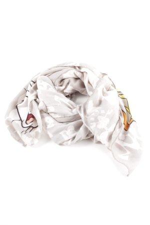 Codello Sommerschal hellgrau-weiß abstraktes Muster Casual-Look