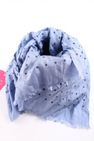 Codello Sommerschal blau Punktemuster Casual-Look