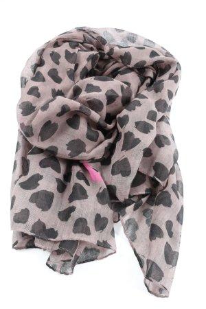 Codello Sommerschal pink-schwarz Allover-Druck Casual-Look