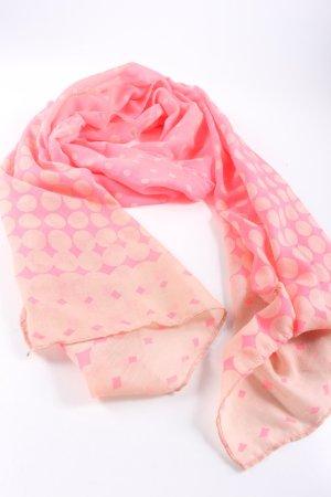 Codello Chal veraniego rosa estampado gráfico look casual