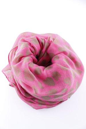 Codello Zomersjaal roze-brons volledige print casual uitstraling