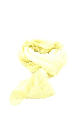 Codello Écharpe d'été jaune primevère-blanc motif de tache