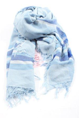 Codello Sommerschal blau Streifenmuster Casual-Look
