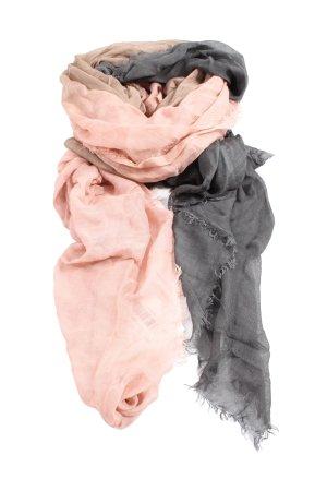 Codello Écharpe d'été gris clair-crème gradient de couleur