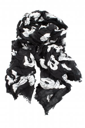 Codello Summer Scarf black-white allover print casual look