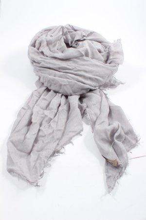 Codello Écharpe d'été gris clair style décontracté