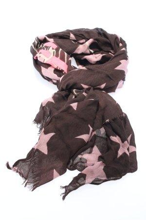 Codello Écharpe d'été violet-rose imprimé allover style décontracté
