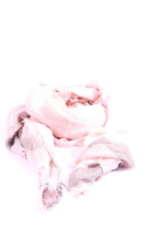 Codello Chal veraniego rosa-marrón estampado a cuadros look casual