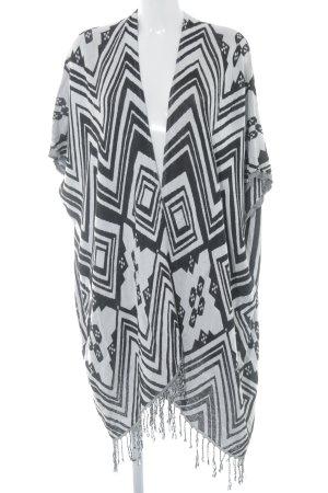 Codello Cardigan in maglia bianco-nero