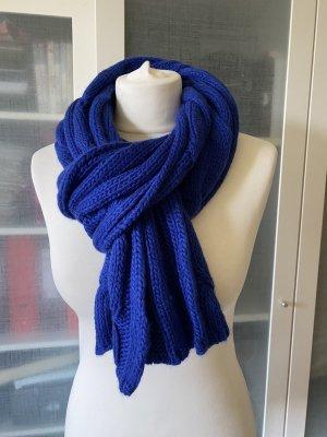 Codello Wollen sjaal neon blauw