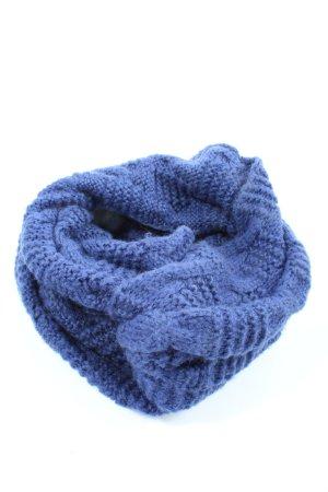 Codello Écharpe en tricot bleu style décontracté