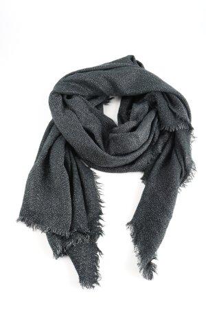 Codello Gebreide sjaal lichtgrijs gestippeld casual uitstraling