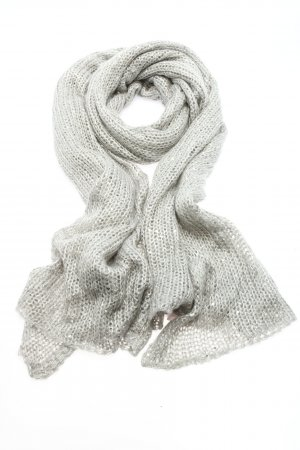 Codello Knitted Scarf light grey casual look