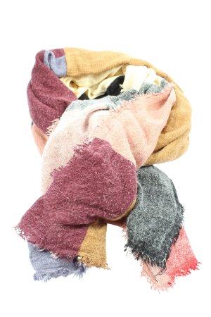 Codello Écharpe en tricot multicolore style décontracté