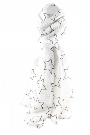 Codello Knitted Scarf white-black casual look