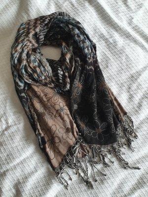Codello Sjaal met franjes veelkleurig