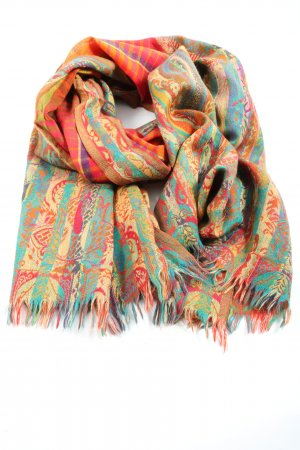 Codello Woolen Scarf abstract pattern casual look