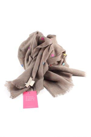 Codello Bufanda de lana marrón look casual