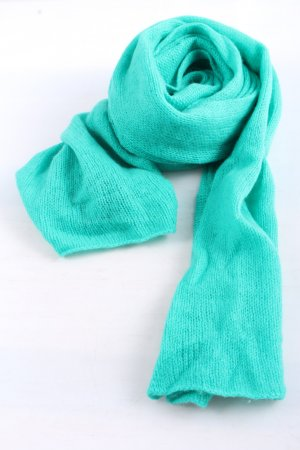 Codello Woolen Scarf turquoise casual look
