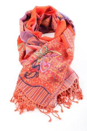 Codello Bufanda de lana estampado con diseño abstracto look casual