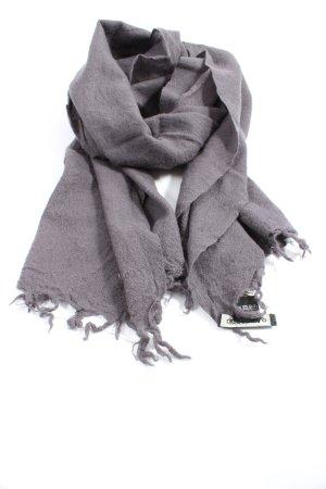 Codello Bufanda de lana gris claro look casual