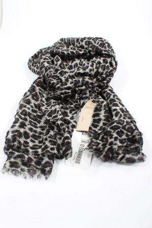 CODELLO x Disney Sciarpa con frange nero-grigio chiaro stampa integrale