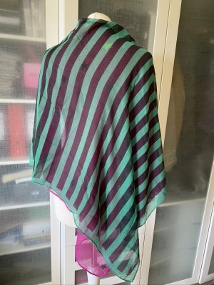 Codello Shoulder Scarf green-pink cotton