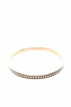 codoux Bangle gold-colored-black casual look