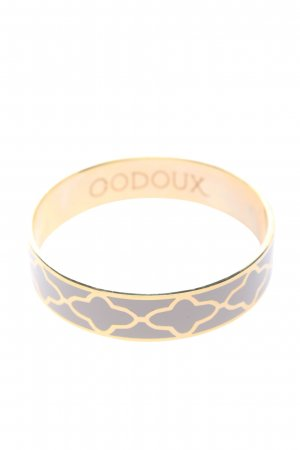 codoux Bangle light grey-gold-colored allover print casual look