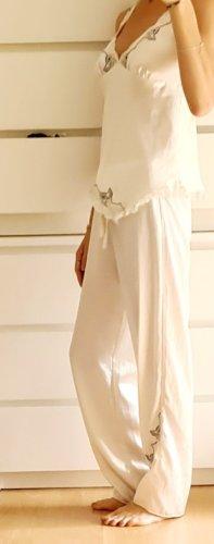 coemi Luxus seiden satin Pyjama schlafanzug boho loungewear