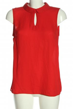 Coercion Sleeveless Blouse red casual look