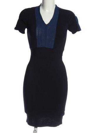 Coercion Shortsleeve Dress blue casual look