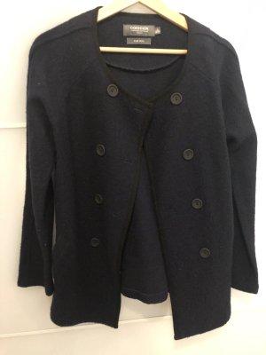Coercion Cappotto in lana nero