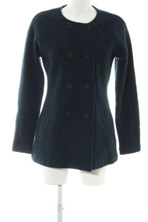 Coercion Cappotto in lana verde stile professionale