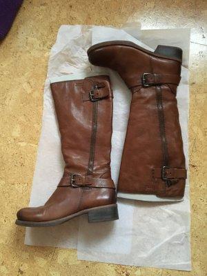 Bama Jackboots cognac-coloured-brown