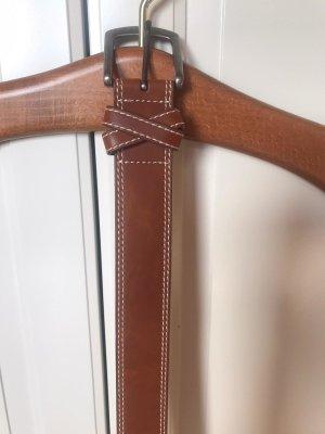 Cognac / Brauner Gürtel von Zero