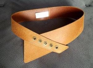 Pieces Belt cognac-coloured